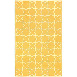 Capri Indoor/Outdoor Rug in Yellow