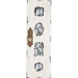 White Wash Frame With Door Knob