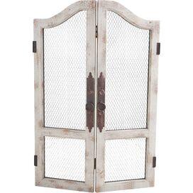 Wood & Metal Door Decor