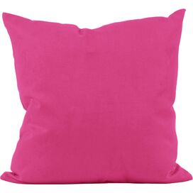 Tilly Cotton Pillow in Fuchsia