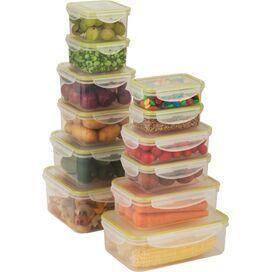 24-Piece Snap-Tab Food Storage Set