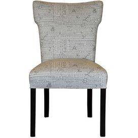 Newsletter Accent Chair in Storm (Set of 2)