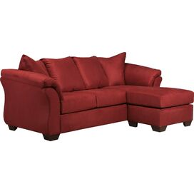 Sadie Sectional Sofa in Salsa