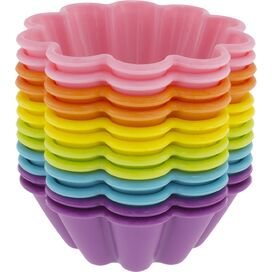 Flower Silicone Baking Cup Set