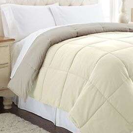 Reversible Down Alternative Comforter in Atmosphere