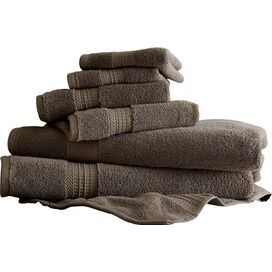 6-Piece Egyptian Cotton Towel Set in Mocha