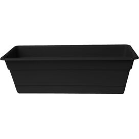 Indoor/Outdoor Window Box in Black
