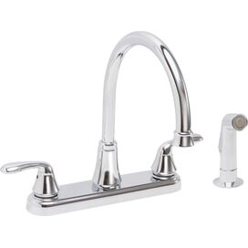 Centerset Kitchen Faucet in Chrome
