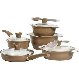 12-Piece Boiardi Cookware Set in Tuscan Harvest