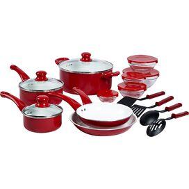 17-Piece Cookware & Food Storage Set