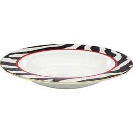 Lenox Zebra Border Soup Bowl