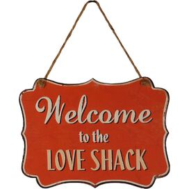 Welcome to the Love Shack Wall Decor