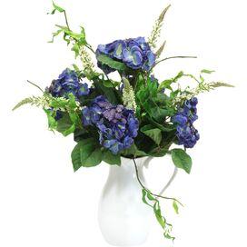 Faux Purple Hydrangea