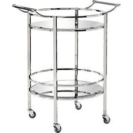 Harper Mirrored Bar Cart
