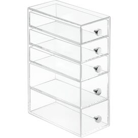 5-Drawer Plastic Storage Tower