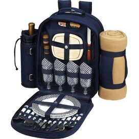 Picnic Backpack & Place Settings