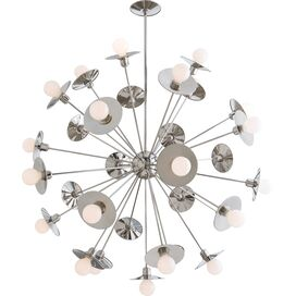 Keegan 30-Light Chandelier, Arteriors