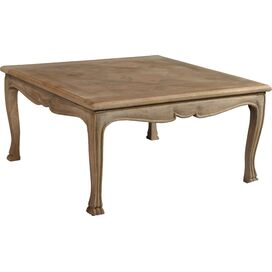 Lillian Coffee Table in Natural White Wash