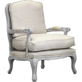 Spencer Arm Chair in Antique White Wash