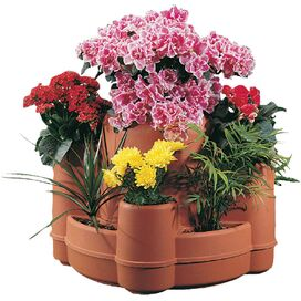 Mayan Raised Planter (Set of 4)