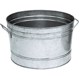 Planter Bucket in Stainless Steel