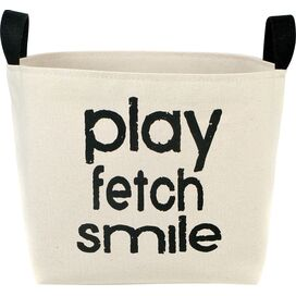 Play Fetch Smile Storage Bin