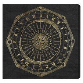 Sky Compass Canvas Print, Oliver Gal