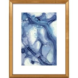Blueline No.2 Framed Print, Artfully Walls