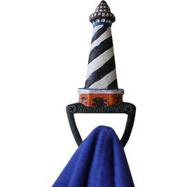 Lighthouse Hook in Black