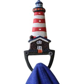 Lighthouse Hook in Red