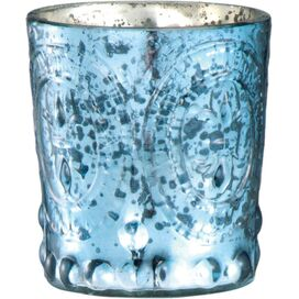 Marla Candleholder in Cobalt