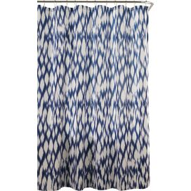 Caitlin Shower Curtain in Cobalt Blue