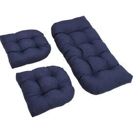 3-Piece Indoor/Outdoor Cushion Set in Azul