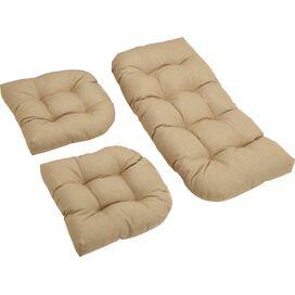 3-Piece Indoor/Outdoor Cushion Set in Sandstone