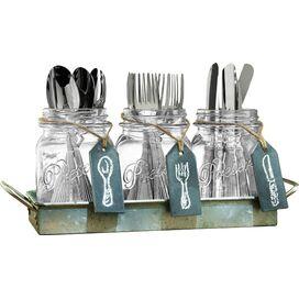 4-Piece Franklin Cutlery Caddy Set