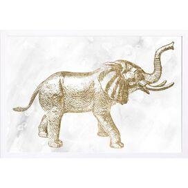 Elephant Framed Print, Oliver Gal