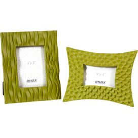 2-Piece Morgana Picture Frame Set in Green
