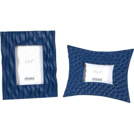 2-Piece Morgana Picture Frame Set in Blue