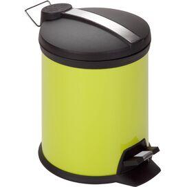 5-Lieter Step Wastebasket in Lime