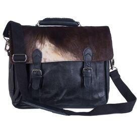 Cowhide Leather Satchel