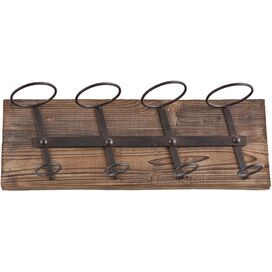 Wicklow Wall-Mount Wine Rack
