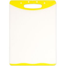 2-Piece Cutting Board & Knife Set in Yellow