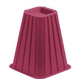 Bed Riser in Pink (Set of 4)