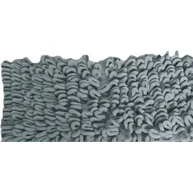 Loop Chenille Bath Rug in Grey (Set of 2)