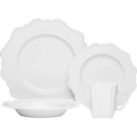 16-Piece Pinpoint Dinnerware Set