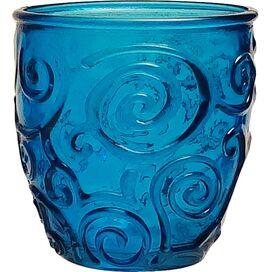 Mediterranean Wine Tumbler in Cornflower Blue (Set of 4)