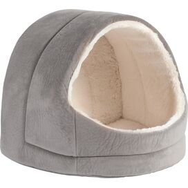 Misty Igloo Pet Bed in Gray