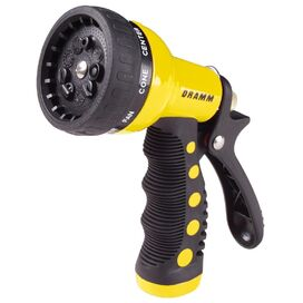 9-Pattern Revolver Hose Nozzle in Yellow