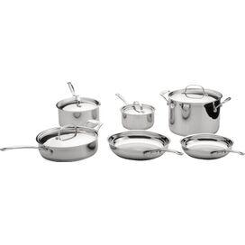 10-Piece EarthChef Premium Copper Clad Cookware Set