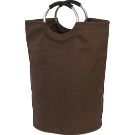 Canvas Bag Hamper in Brown